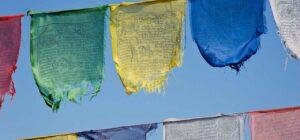 boeddhistische vlaggen
